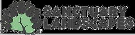 Sanctuary Logo - Landscape Charcoal & Li