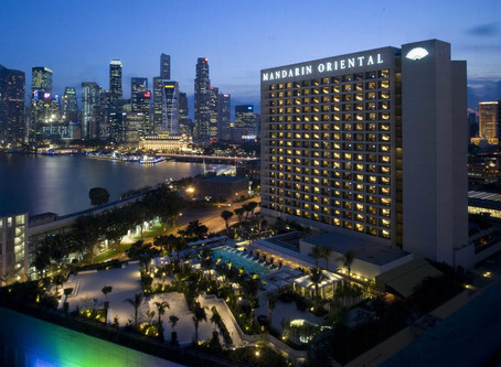 Welcome To - Mandarin Oriental, Singapore