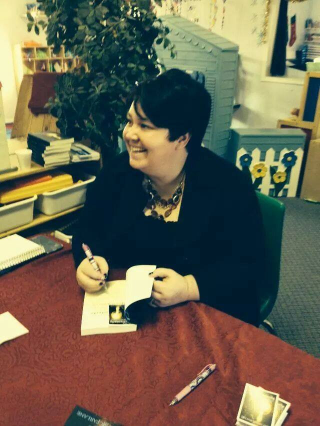 My first book signing!!