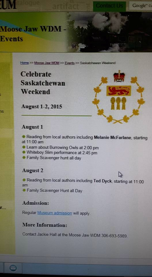 Readout for Saskatchewan Weekend
