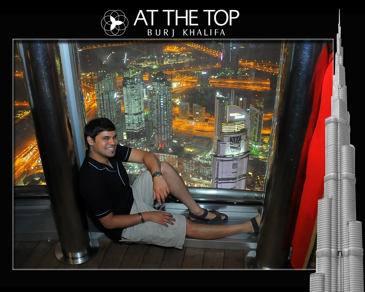 Inside the Burj Khalifa