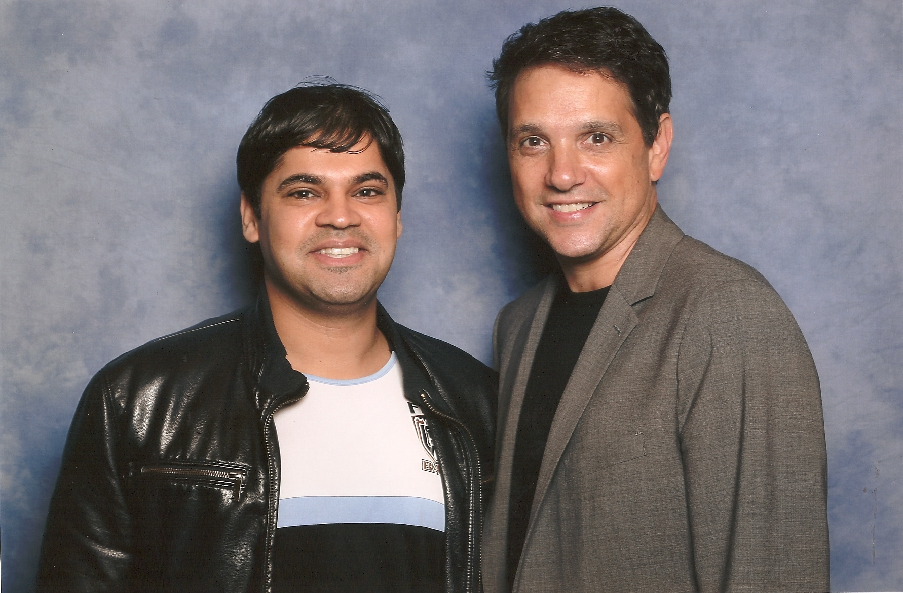 With Actor Ralph Macchio