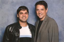 With Actor Ralph Macchio