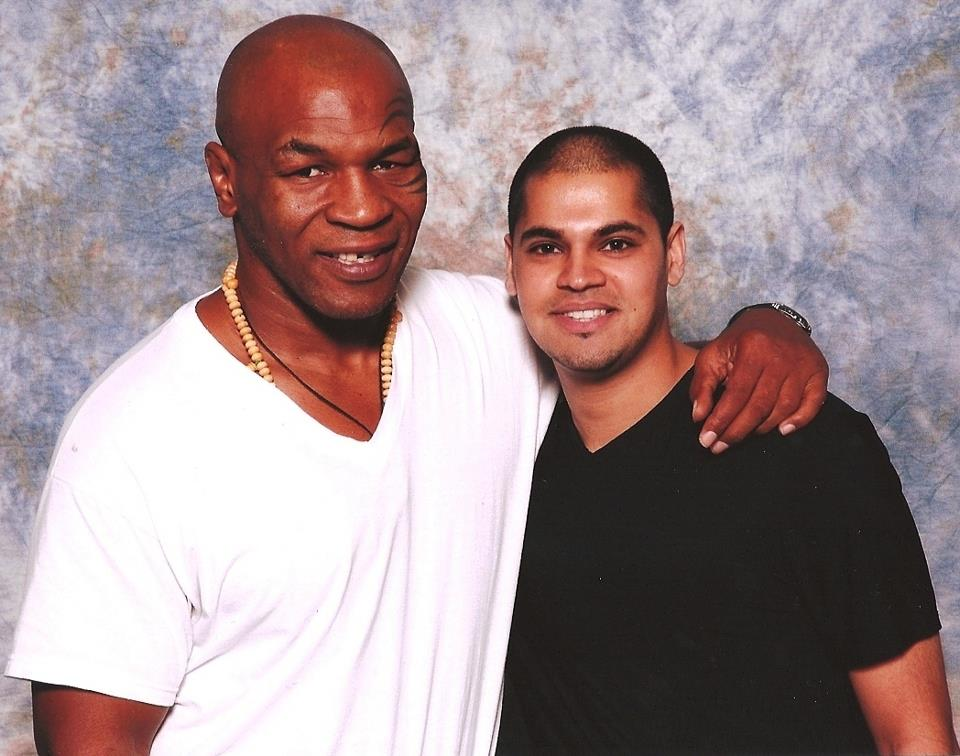 "With ""Iron"" Mike Tyson"