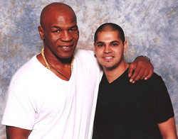 """With """"Iron"""" Mike Tyson"""