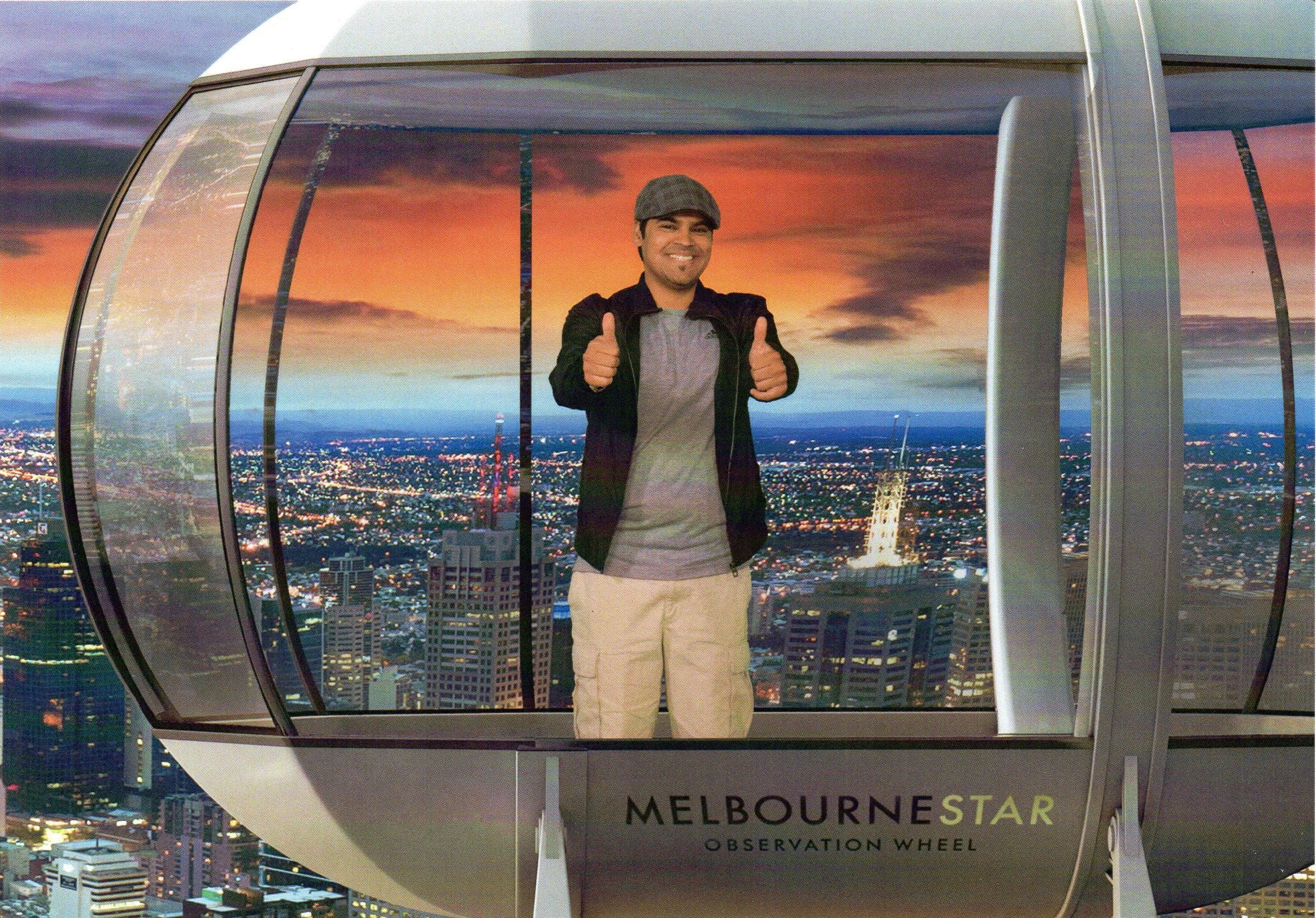 Inside the Melbourne Star