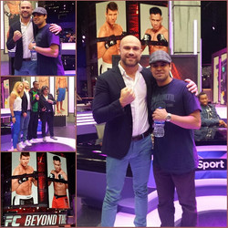 With UFC Fighter Cathal Pedred