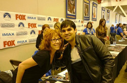 With Actor Mindy Sterling