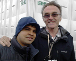 With Film Director Danny Boyle
