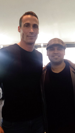 With England Cricketer Simon Jones