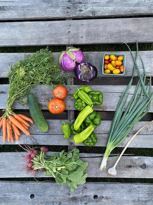 2021 Main Season Vegetable Subscription