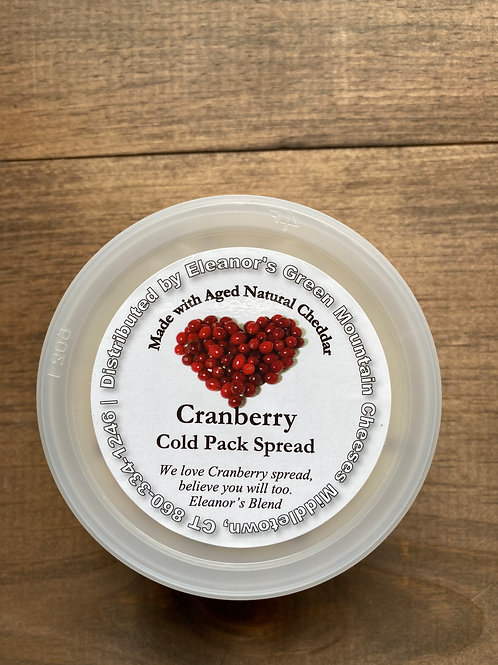 Cranberry Cold Pack Spread