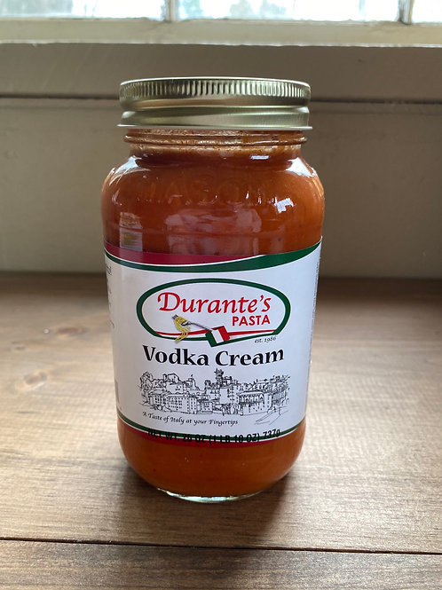 Vodka Cream Sauce