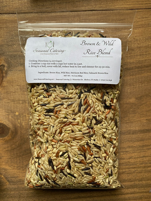 Brown & Wild Rice Blend