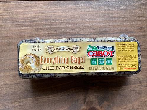 Cabot Everything Bagel Cheddar