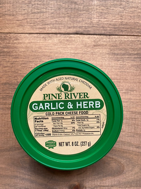Garlic and Herb Cold Pack Spread
