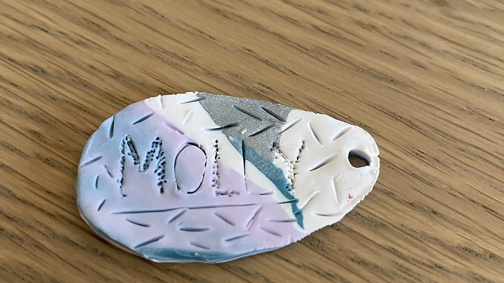 Dog Tag: Marbled Sprinkles