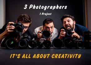 3 Fotografi - Un proiect comun