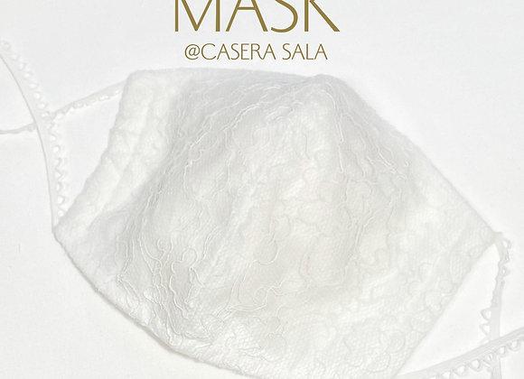 大人用マスク チュールレース