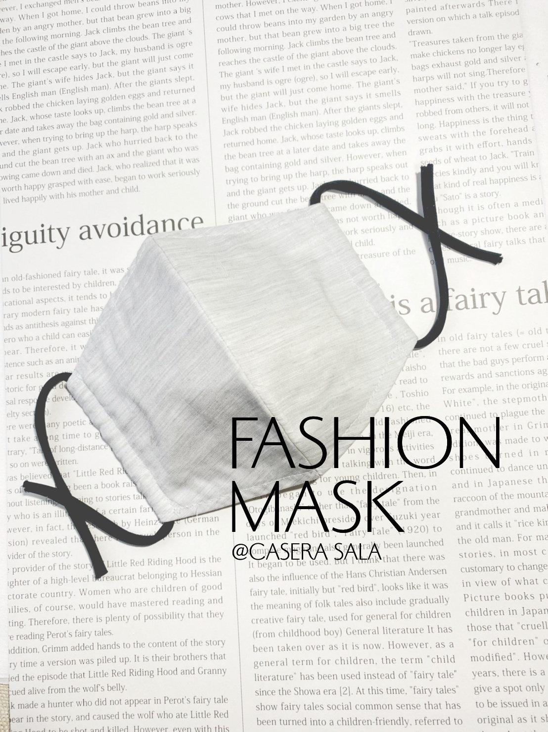 洋裁体験 布マスク
