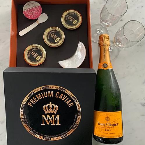 Luxury Caviar & Champagne Gift Box