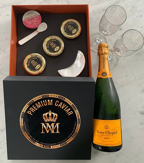 Luxury Caviar  & Champagne Gift Box