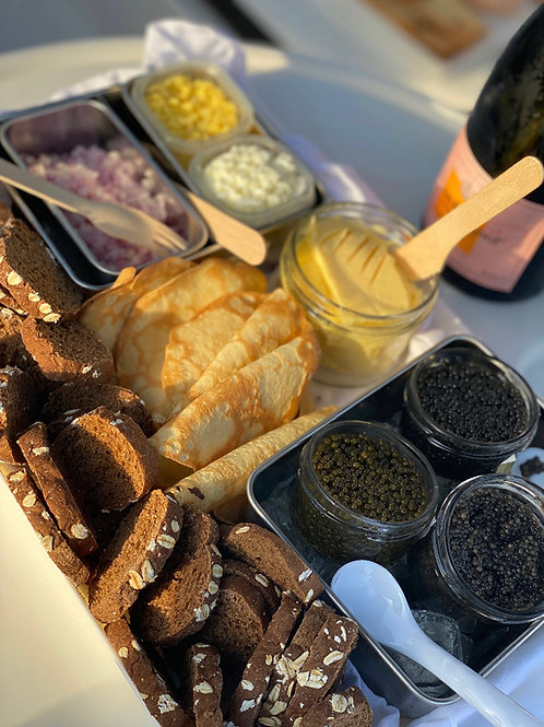 The Grand Caviar Flight