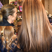 Base color, Ombré, Tape in Hair Extensio