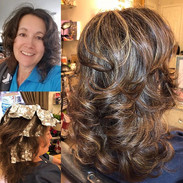 Highlights, Haircut, Deep conditioning &