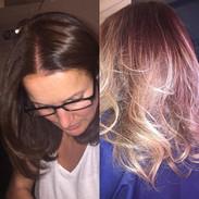 Ombré by Tanya 🌸🍃 Highlights ❤️❤️ Hair