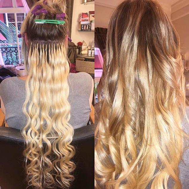 Tbt keratin hair extensions 🥰🥰 🌺🍃 ne