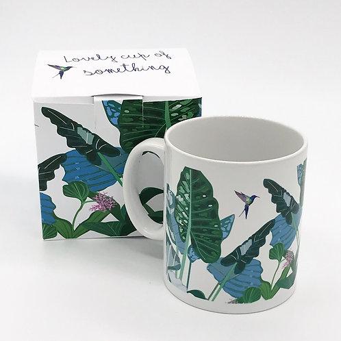 """""""Calathea"""" mug with gift box"""