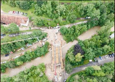 Eindrucksvoller Brückenschlag im Neckartal