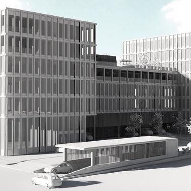Neubau Gewerbegebäude Schwyzermatt, Schenkon