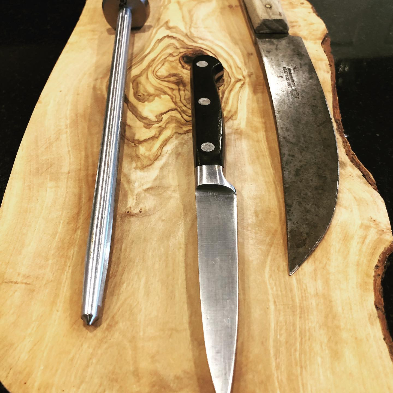 Kitchen Knife Sharpening
