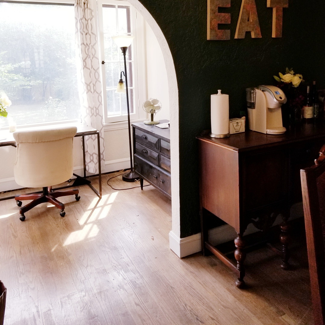 Dining and Home Office Renovation