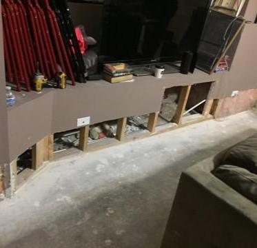 Basement Flooding Rehab