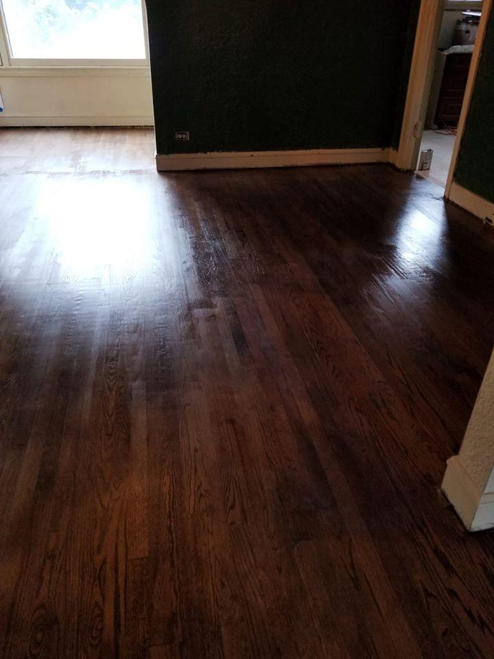 bright and shiny floors