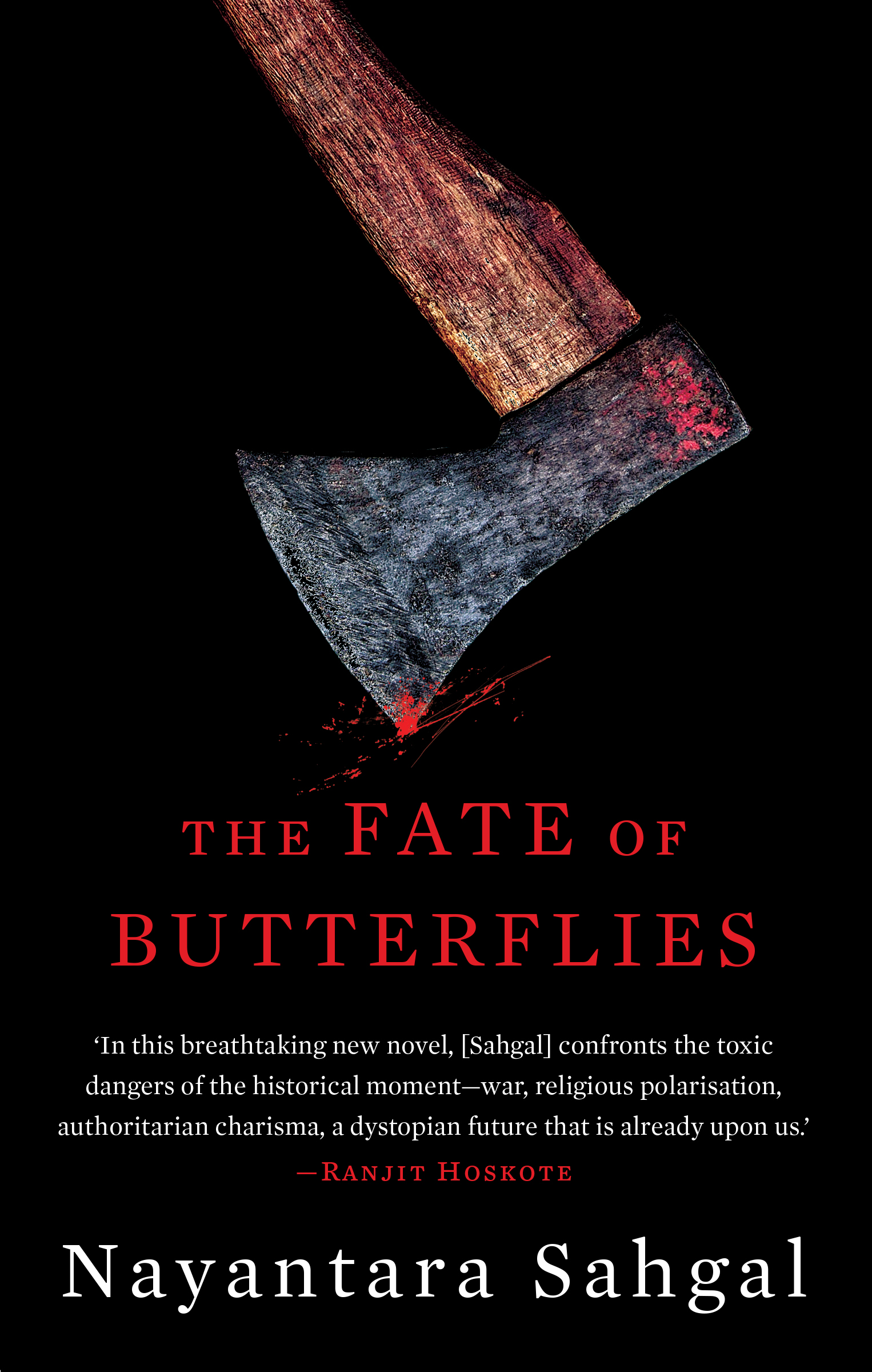 The Fate of Butterflies_Front