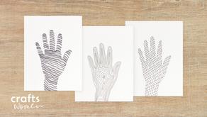 Fun & Easy Hand Tracing Art for Everyone