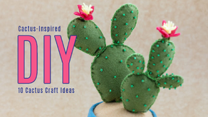 10 Easy & Cute Cactus Inspired DIY Projects: Not-From-Desert Cactus Craft Ideas