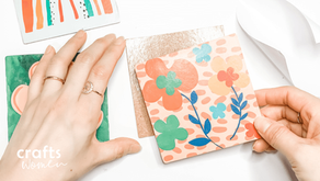 Easiest Way to Make Drink Coasters With Mod Podge: DIY Home Crafts Project