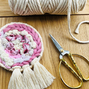 Weaving with Velvetleaf UK: Easy Step-By-Step Guide to Making a Mini Weave