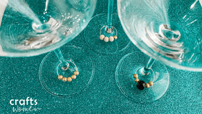 How to Make Wine Glass Charms for Valentine's Day