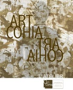 couverture catalogue de l'Atelier ArtCohia - création écoresponsable