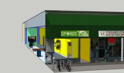 Oakland SPPOKESHOP Bike Lounge