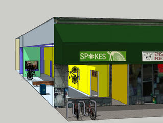 Family Bike Collective Gets a real Home with Oakland SPOKES' new Bike Lounge! http://spokesbikel