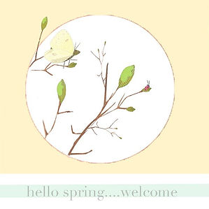 Welcome Spring!  Looking forward to buds