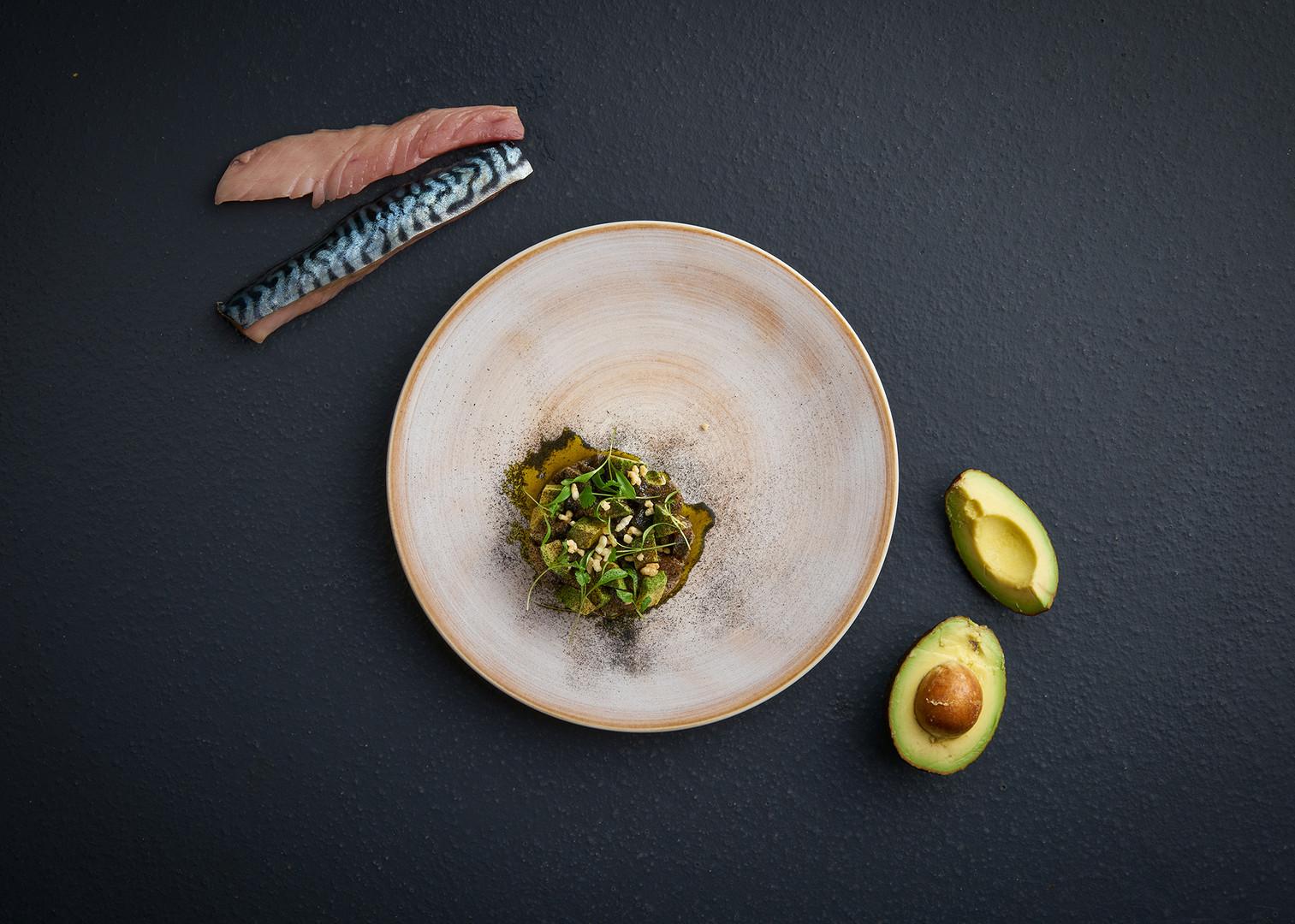 Makrela | avokádo | ječmen