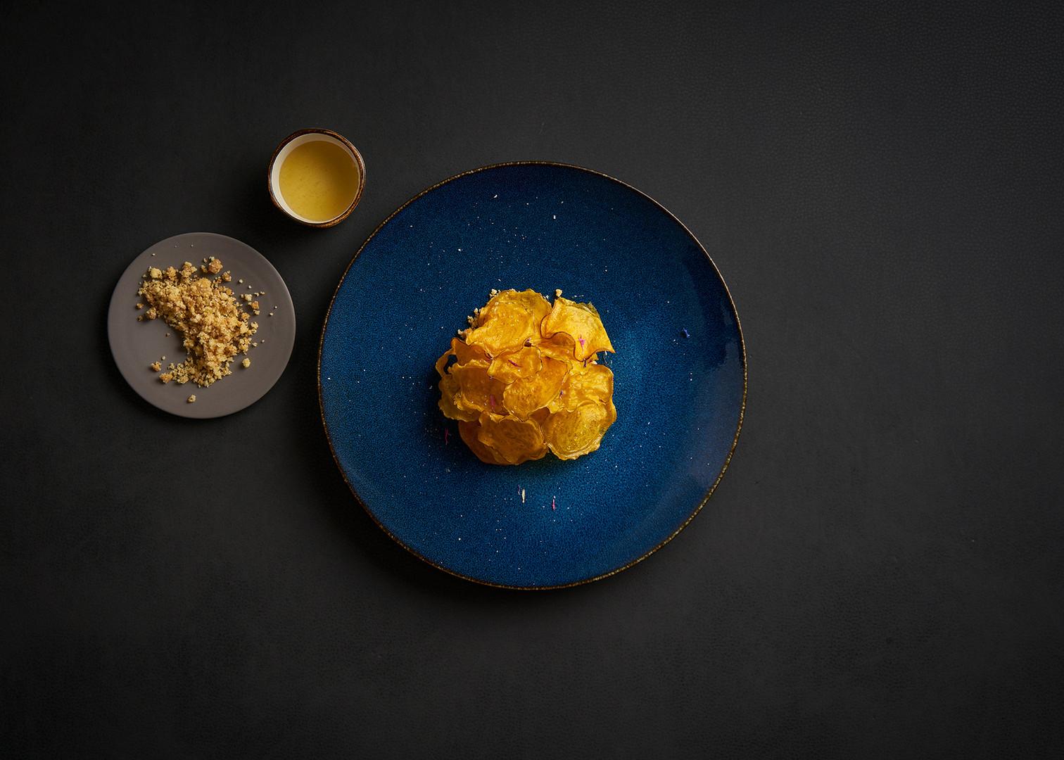Slaninová zmrzlina | batáty | med